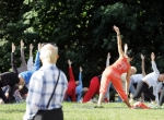 "- vasaros projektas - ""joga mieste"""